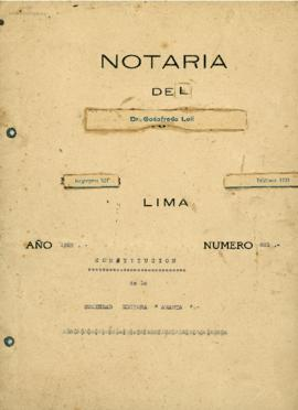 Documentos Constitutivos