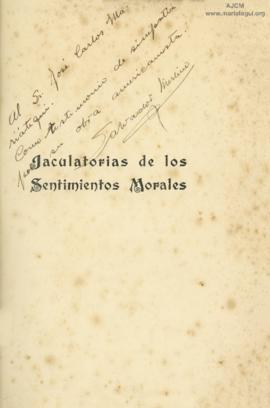 Dedicatoria de Salvador Merlino