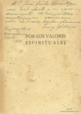 Dedicatoria de Enrique Molina