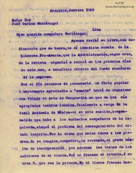 Carta de Guillermo Mercado